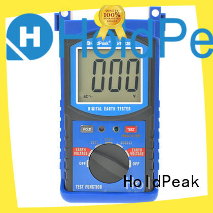 HoldPeak quantity earth clamp tester measurement for industrial electrical equipment industry