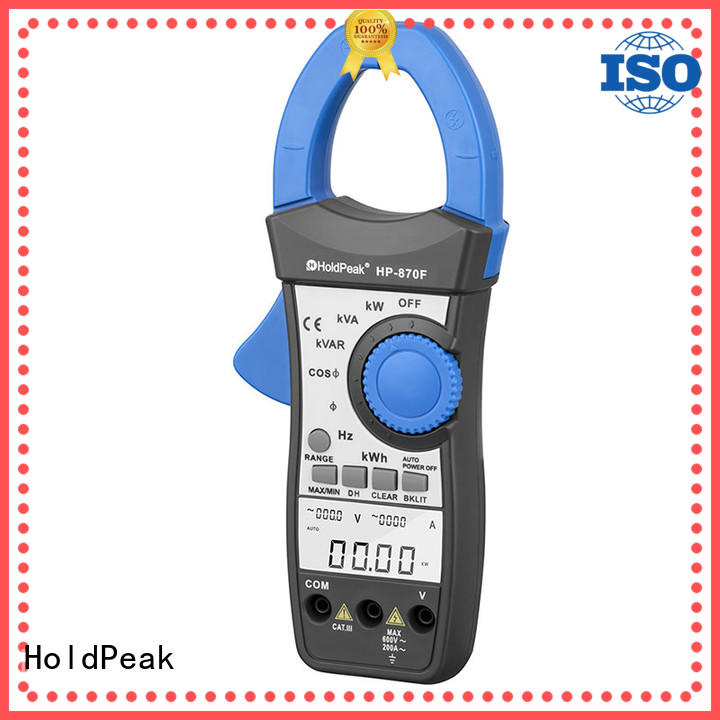HoldPeak acdc clamp tester for business for petroleum refining industry