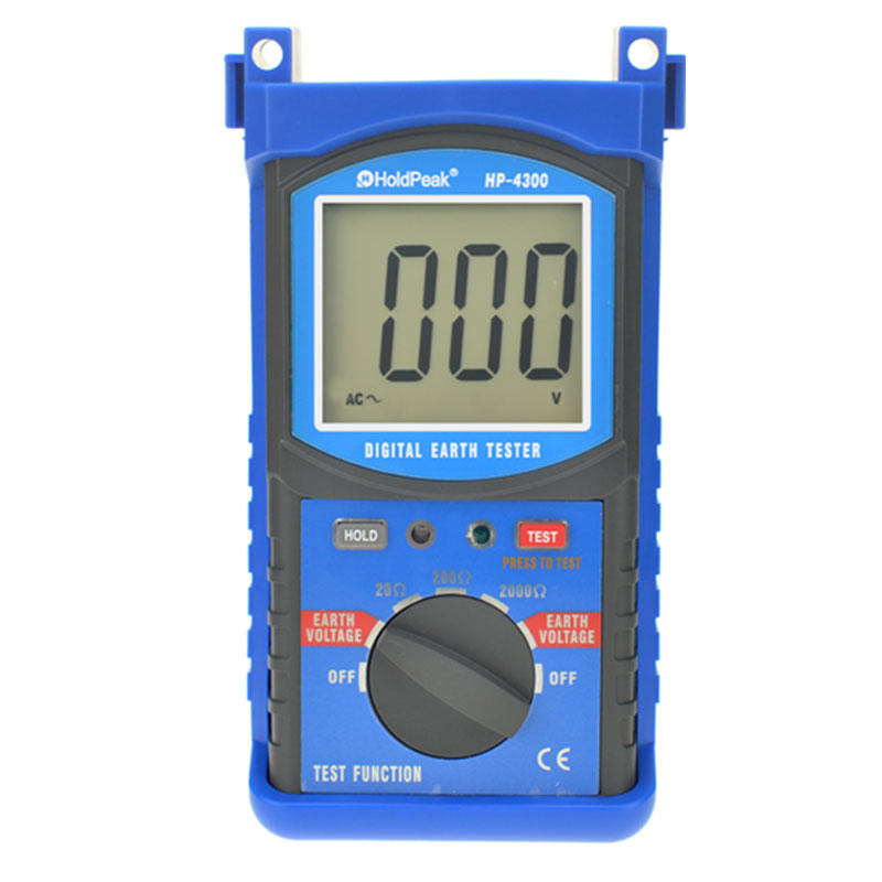 digital earth tester,  good quantity  earth resistance tester HP-4300