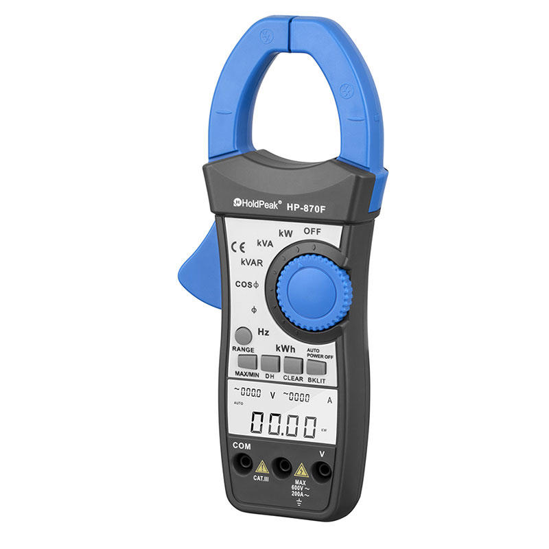 digital clamp meter, capacitance and amp clamp meter HP-870F