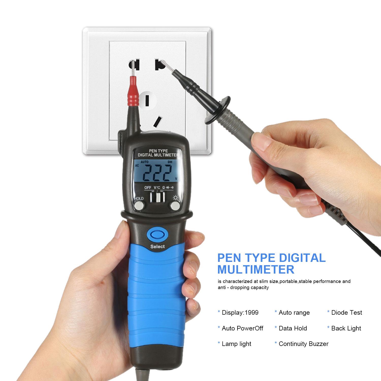 HoldPeak Custom digital voltmeter and ammeter circuit Supply for electrical-4