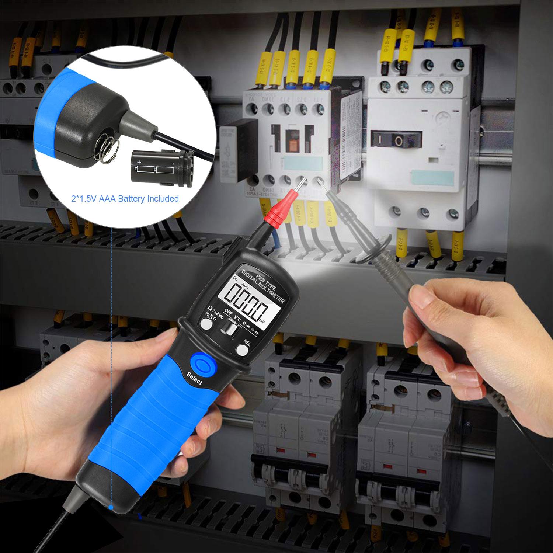 HoldPeak Custom digital voltmeter and ammeter circuit Supply for electrical-6