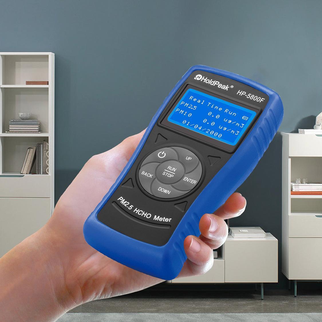 formaldehyde detector Formaldehyde(HCHO) Tester, PM2.5 formaldehyde detector HP-5800F