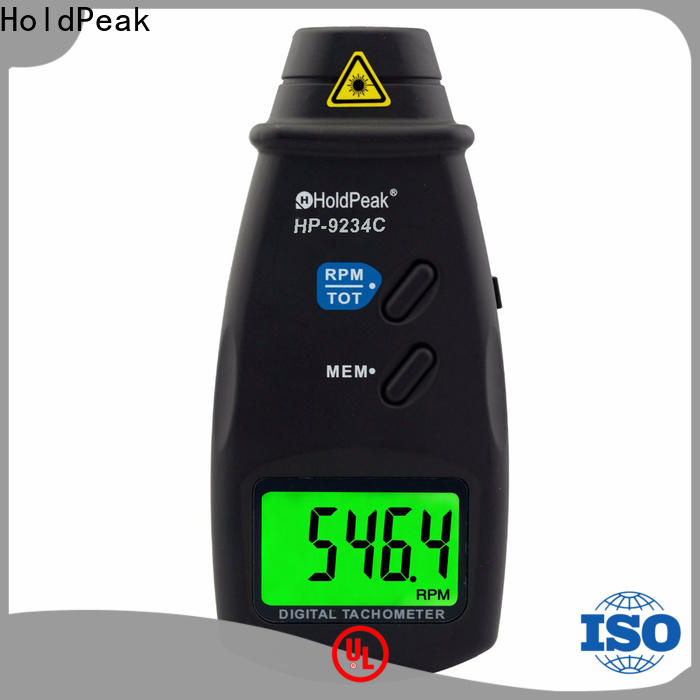 HoldPeak stable handheld digital tachometer Suppliers for electric fans