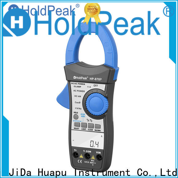 HoldPeak in different model finest clamp meter factory for communcations for manufacturing