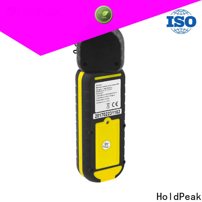 HoldPeak precision ir light meter manufacturers for electronic