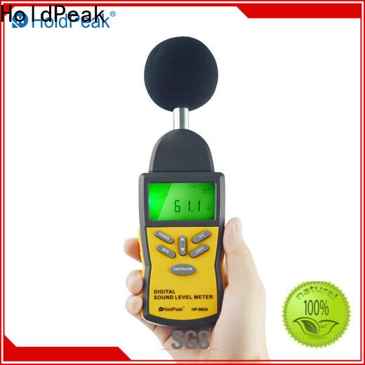 HoldPeak high-tech decibel meter cost factory for measuring steady state noise