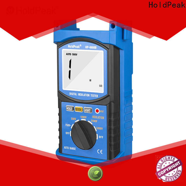 HoldPeak easy to carry insulation resistance meter Supply for repair