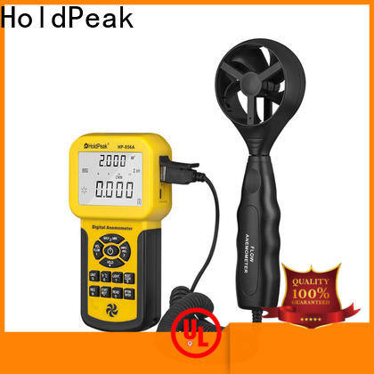 HoldPeak easy to use anemometer craft factory for communcations
