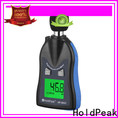 HoldPeak portable sound meters for sale for business for measuring steady state noise
