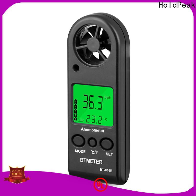 durable handheld anemometer wind speed meter hp826a company for tower crane