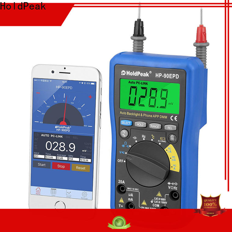 HoldPeak performance hand held multimeter for business for electrical