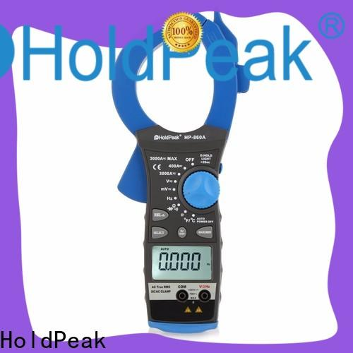HoldPeak hp870k mini ac dc clamp meter manufacturers for communcations for manufacturing