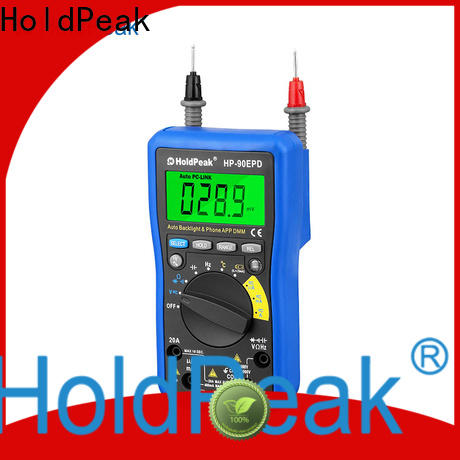 HoldPeak anti-interference humidity temperature meter factory for environmental testing