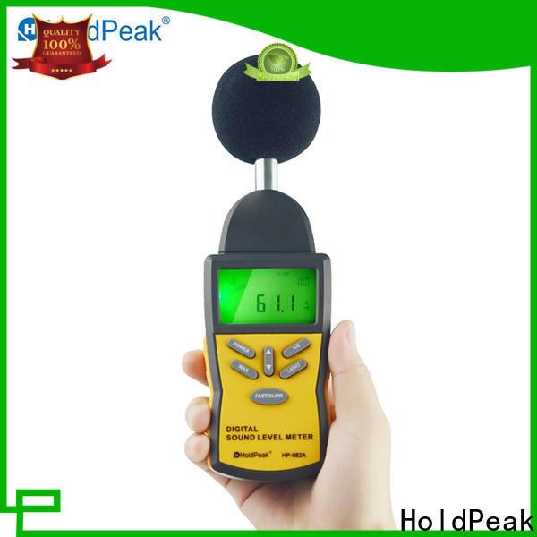 HoldPeak Wholesale decibel meter digital Suppliers for measuring steady state noise