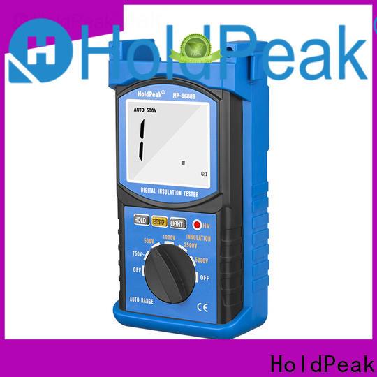 HoldPeak Custom cheap insulation tester Supply for maintenance