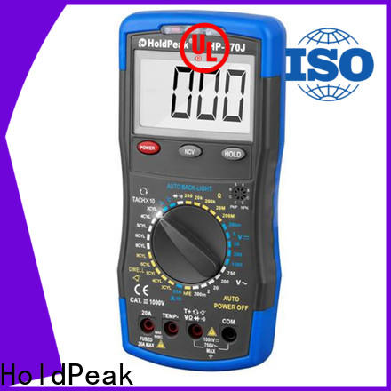 HoldPeak automatic aircraft engine monitor factory for physical