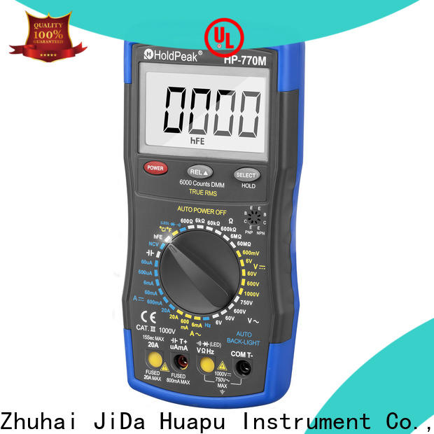 HoldPeak continuity basic digital multimeter manufacturers for physical