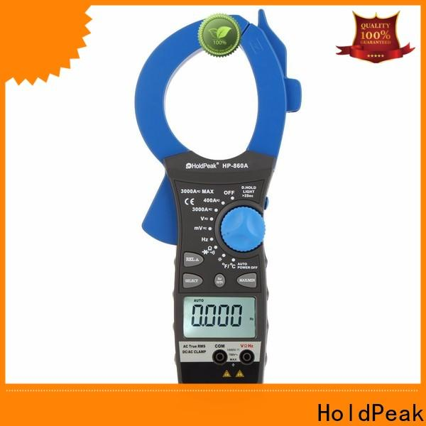 HoldPeak widely used digital clamp meter dc current for business for national defense