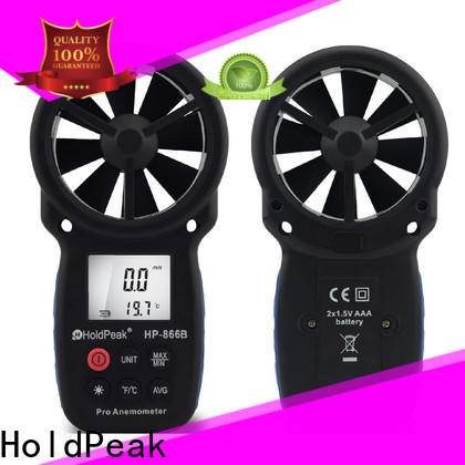 HoldPeak quality pocket anemometer factory for communcations