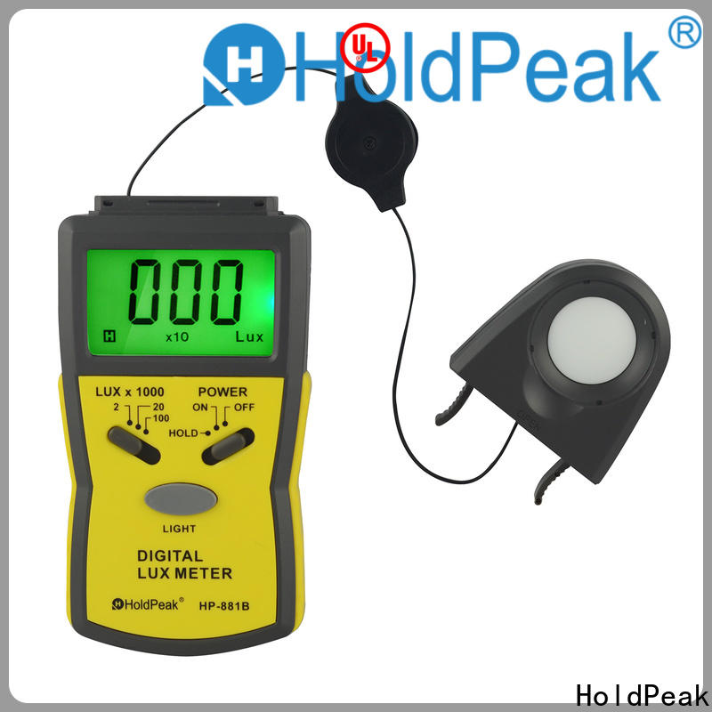 HoldPeak Wholesale digital lux meter Suppliers for physical