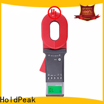 HoldPeak Wholesale clamp on ground resistance tester factory for meteorological