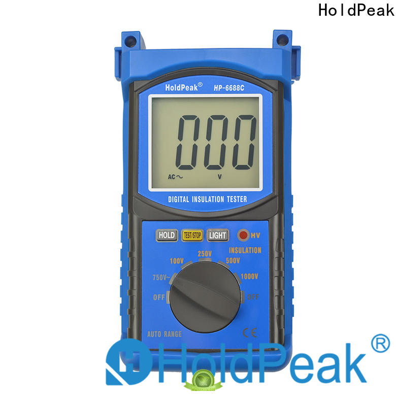 HoldPeak unique analog insulation tester for business for testing