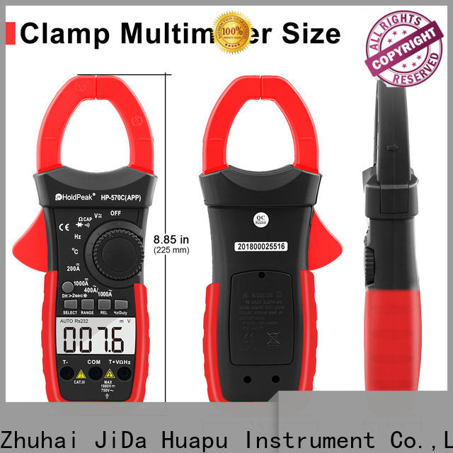 competetive price compact clamp meter hp570capp factory for national defense