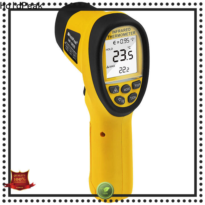 HoldPeak digital non contact thermometer company for fire