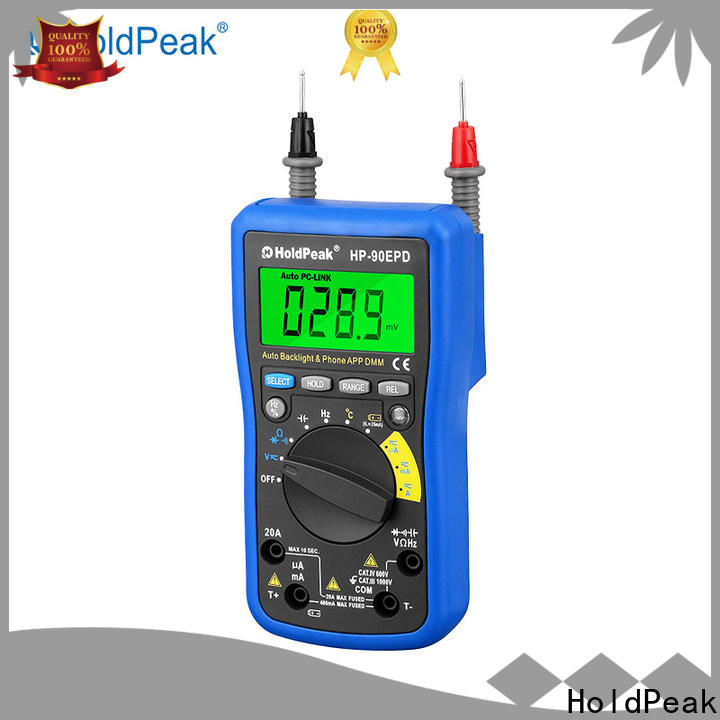 HoldPeak mobile multi function environment meter company for environmental testing