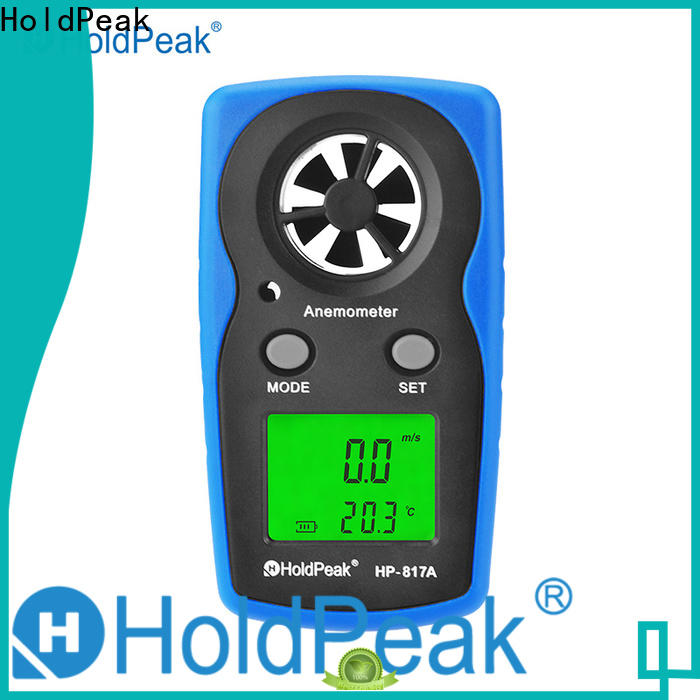 HoldPeak stable hand held wind meter Supply for manufacturing