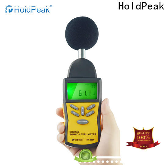 HoldPeak digital meter sound device Supply for measuring steady state noise