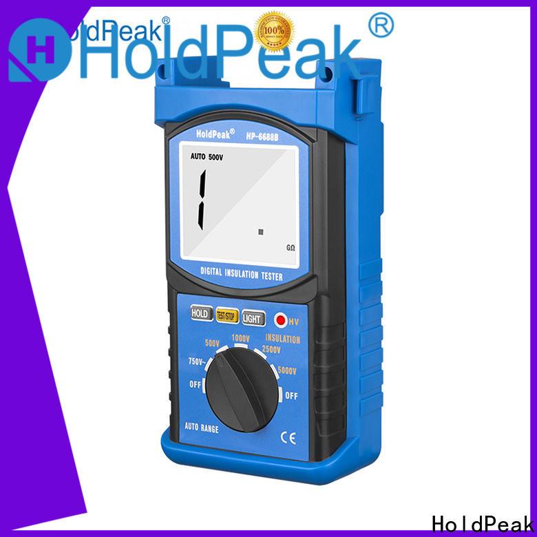 Latest insulation tester 5000v Supply for testing
