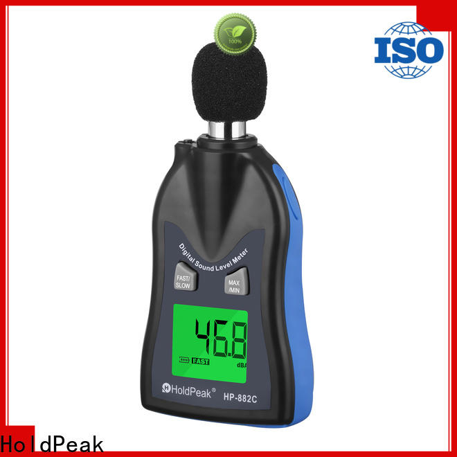 easy to use decibel meter price gold Supply for measuring steady state noise