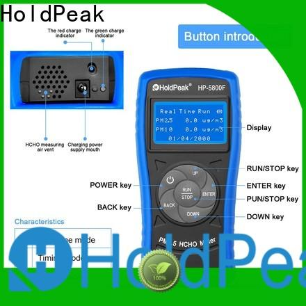 HoldPeak ammonia air quality tester Supply for office