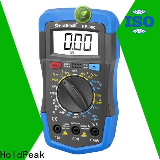 HoldPeak Latest mastercraft multimeter instructions Supply for electronic