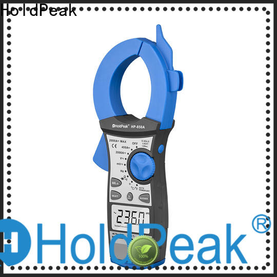 HoldPeak Best dc clamp tester company for electricity chemical industries
