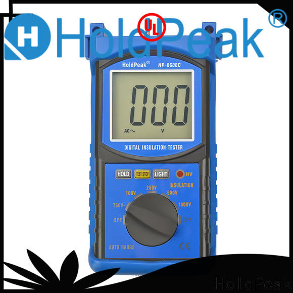 HoldPeak monitorhp6688c insulation resistance meter for business for maintenance