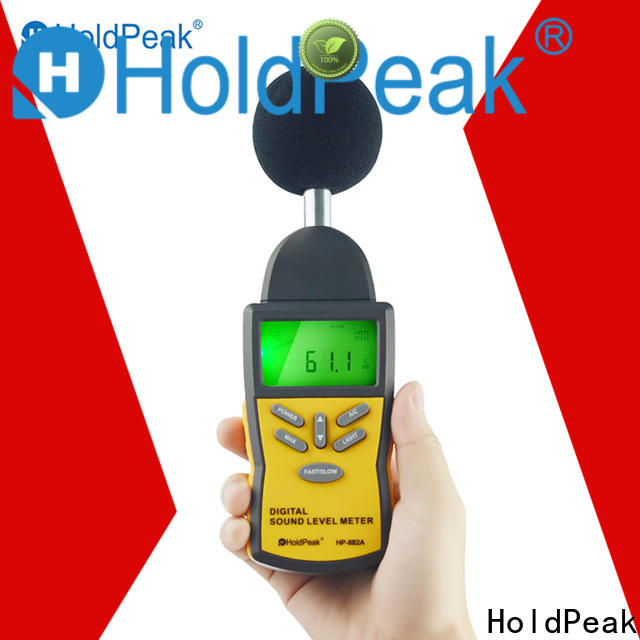 HoldPeak environment buy noise meter manufacturers for measuring steady state noise