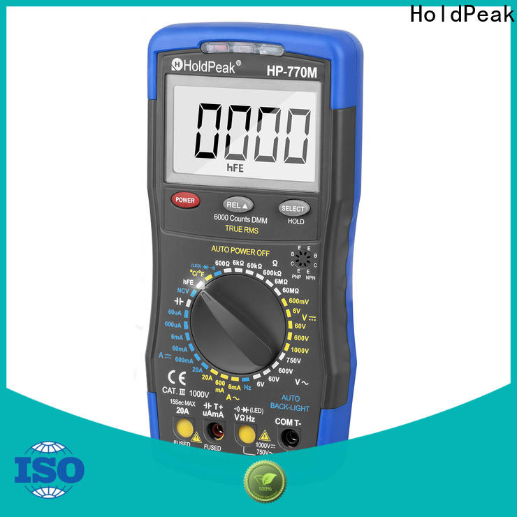 HoldPeak handheld electrical multimeters factory for physical