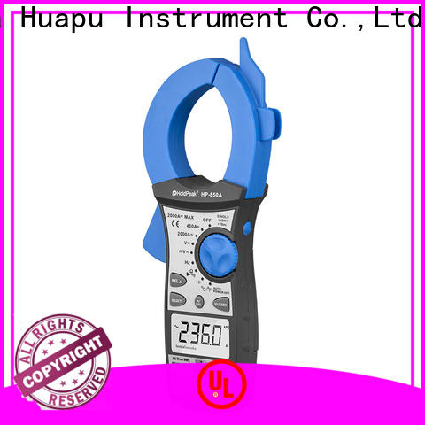 HoldPeak Custom ac dc clamp meter company for electricity chemical industries