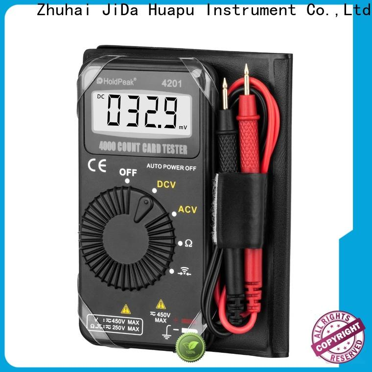 HoldPeak highaccuracy voltage multimeter factory for electrical