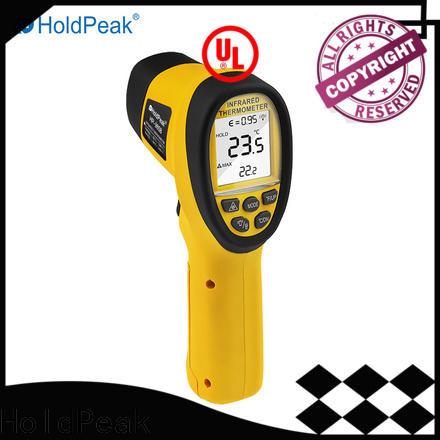 HoldPeak handheld pocket ir thermometer laser temperature reader manufacturers for customs