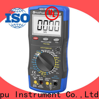 HoldPeak easy to use parts of analog multimeter and its functions manufacturers for electronic