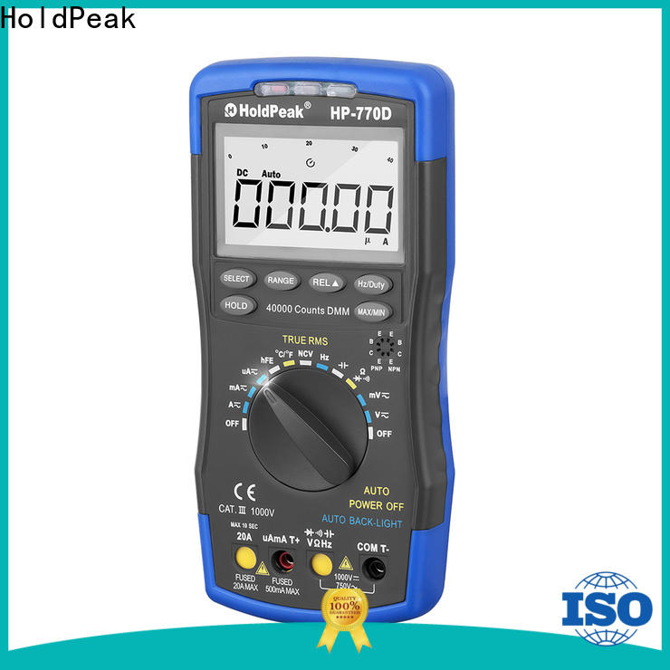 HoldPeak New professional digital multimeter Supply for electrical