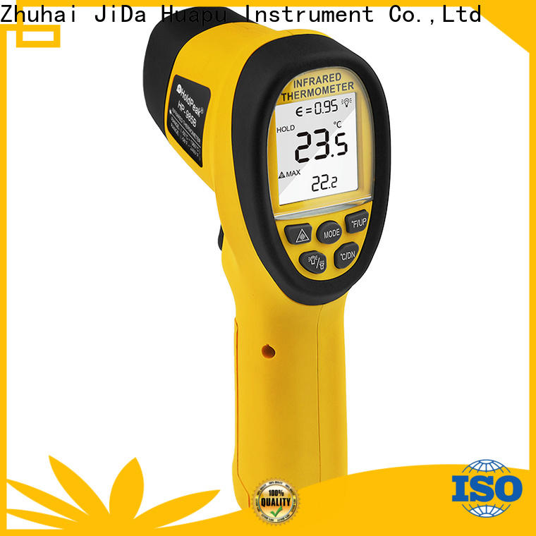HoldPeak Custom pocket ir thermometer laser temperature reader manufacturers for inspection
