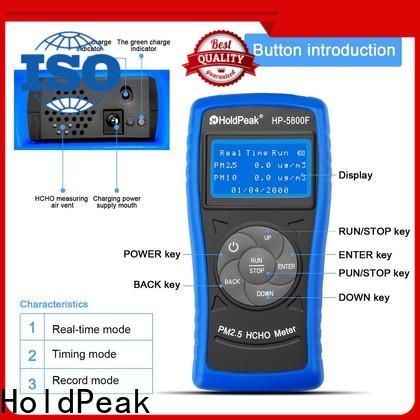 HoldPeak formaldehyde air pollution gauge Supply for hotel