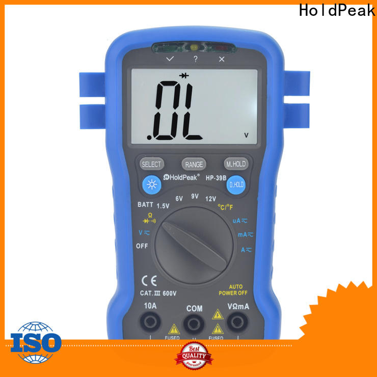 HoldPeak testing low price digital multimeter factory for testing