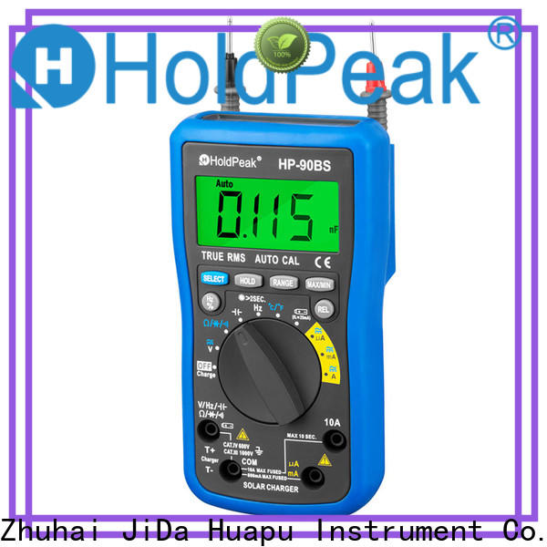 HoldPeak portable voltmeter uses and functions manufacturers for electronic