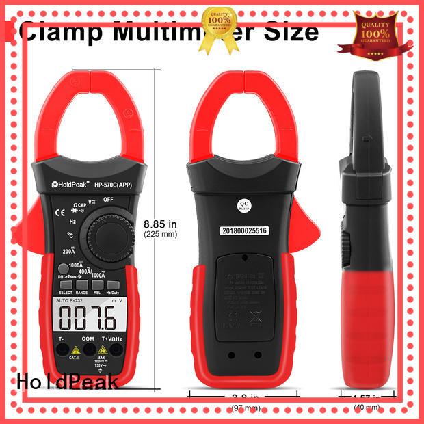 digital clamp meter price for national defense HoldPeak